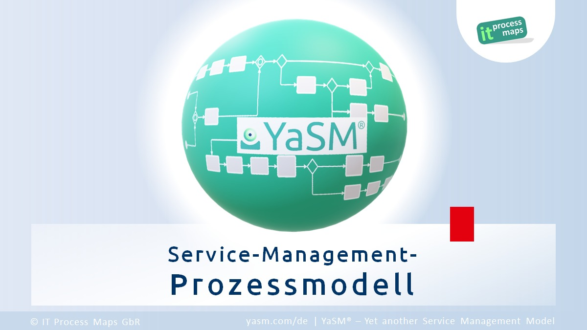 YaSM ist ein schlankes Service-Management-Prozessmodell. YaSM steht für 'Yet another Service Management Model'.