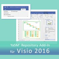 Das YaSM-Repository Add-In für Visio 2016