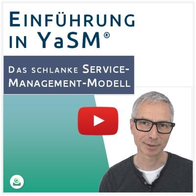 Video: Was ist YaSM? Einführung in YaSM Service Management von Stefan Kempter