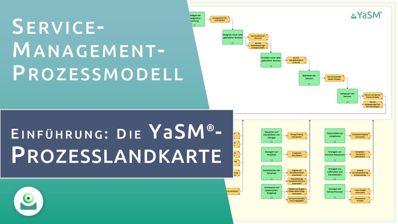 Intro-Video: Das YaSM Service-Management Prozessmodell