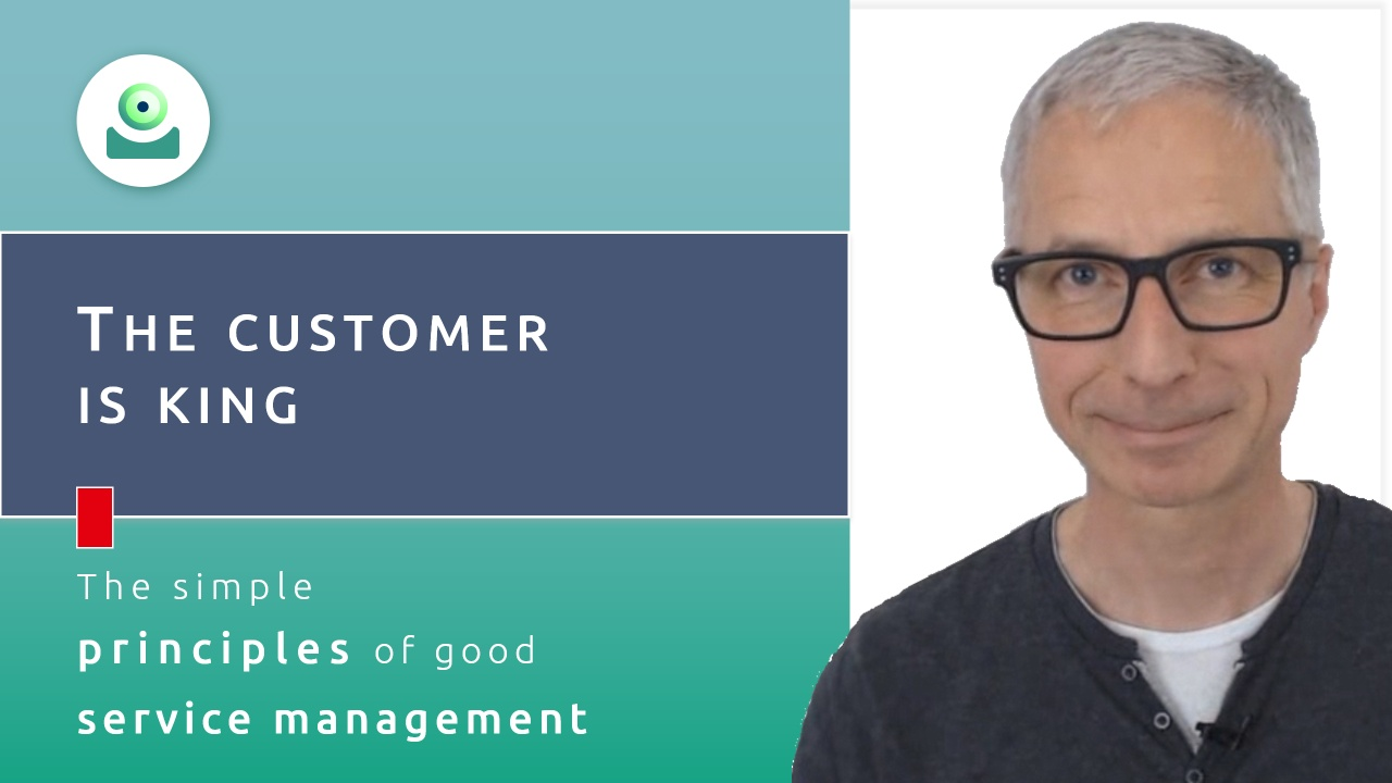 Video: YaSM customer service management. The customer is king - The simple principles of good service management, part 1.