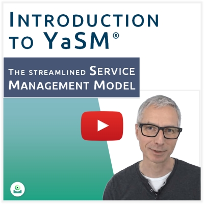 Video: What is YaSM? Introduction to YaSM service management by Stefan Kempter.