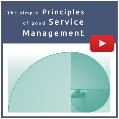Video series: The simple principles of good service management.