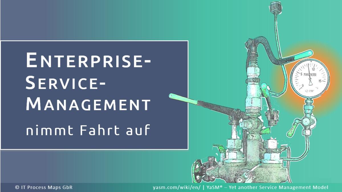 Enterprise-Service-Management ist ein Trend, der Fahrt aufnimmt! Was also ist ESM?