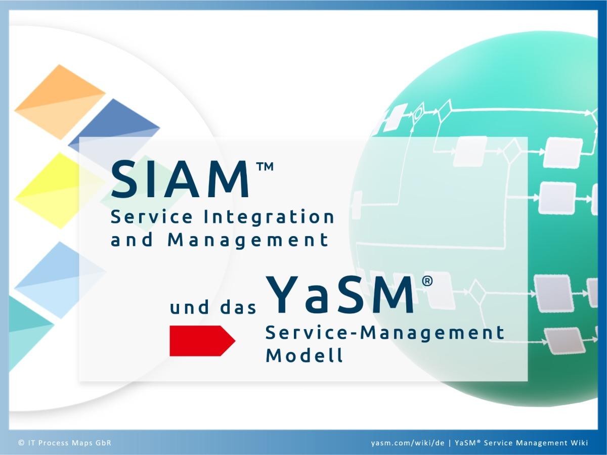 Vergleich: SIAM Service Integration and Management und das YaSM Service-Management-Prozessmodell. Prozess-Templates für SIAM-Projekte.