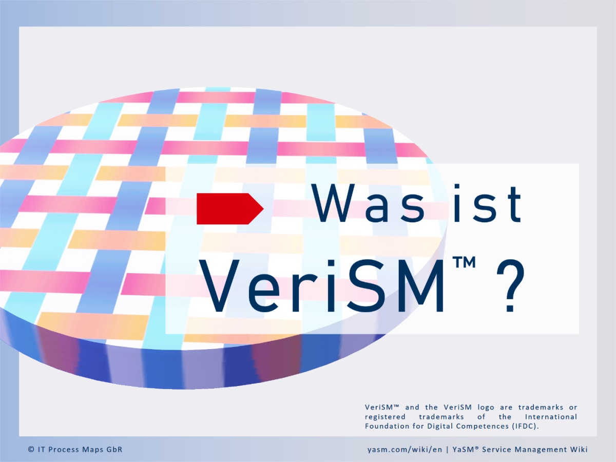 Einführung in das VeriSM-Modell und das 'VeriSM Service Management Mesh'.