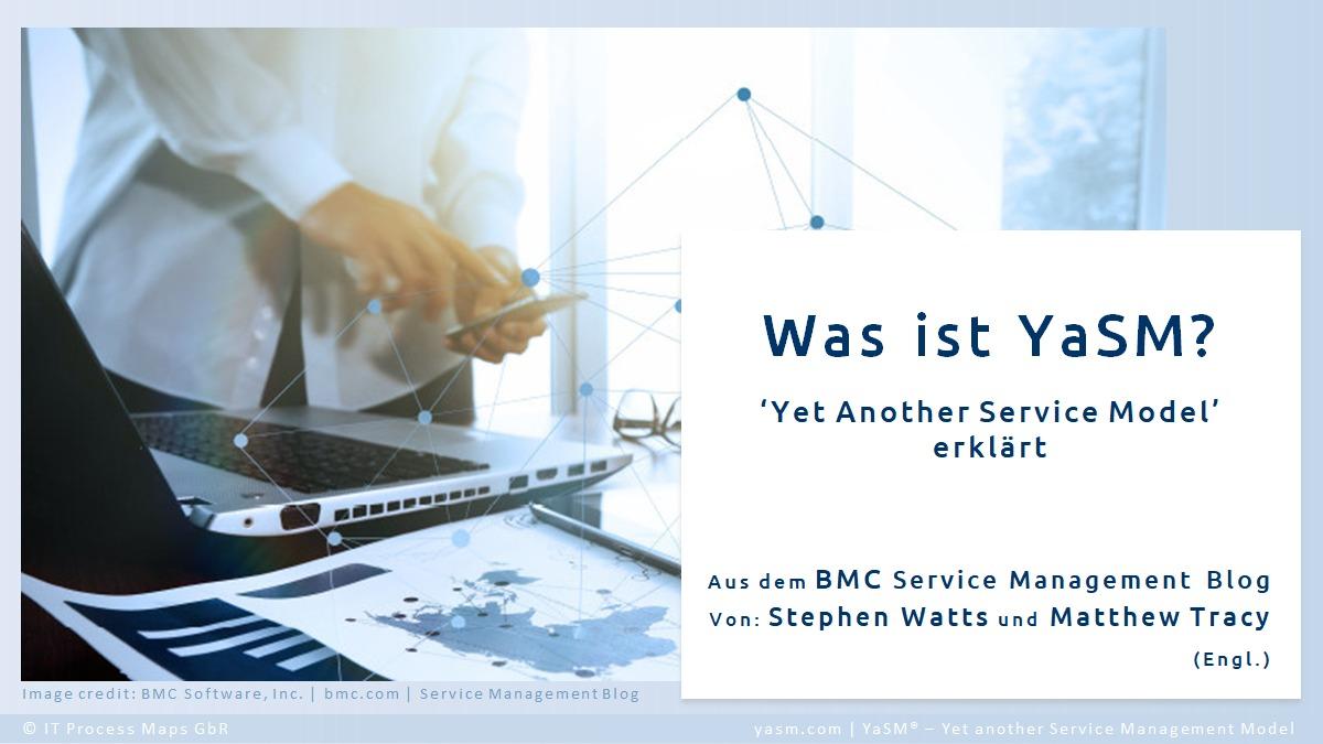 Die Vorteile von YaSM Service-Management: Gründe, warum das YaSM-Modell für Service-Provider von Nutzen ist. Artikel aus dem BMC-Blog.