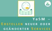 YaSM LP3: Erstellen neuer oder geänderter Services. - Thumbnail.