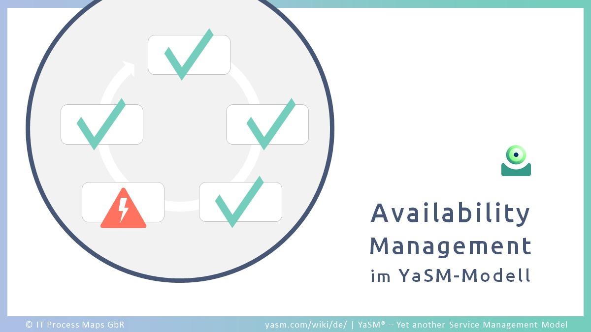 Availability Management: Managen der Service-Verfügbarkeit in YaSM.