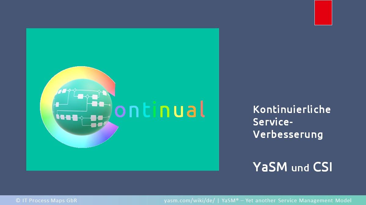 Warum kontinuierliche Serviceverbesserung so wichtig ist, und wie YaSM Service-Providern mit praxisnahen Empfehlungen zum CSI-Prozess hilft.