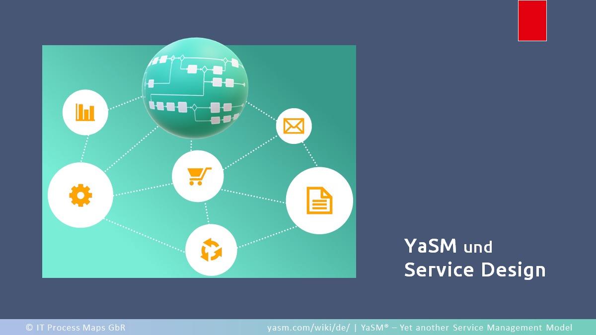 Der Service-Design-Prozess in YaSM enthält die Aktivitäten zum Designen neuer bzw. geänderter Services.