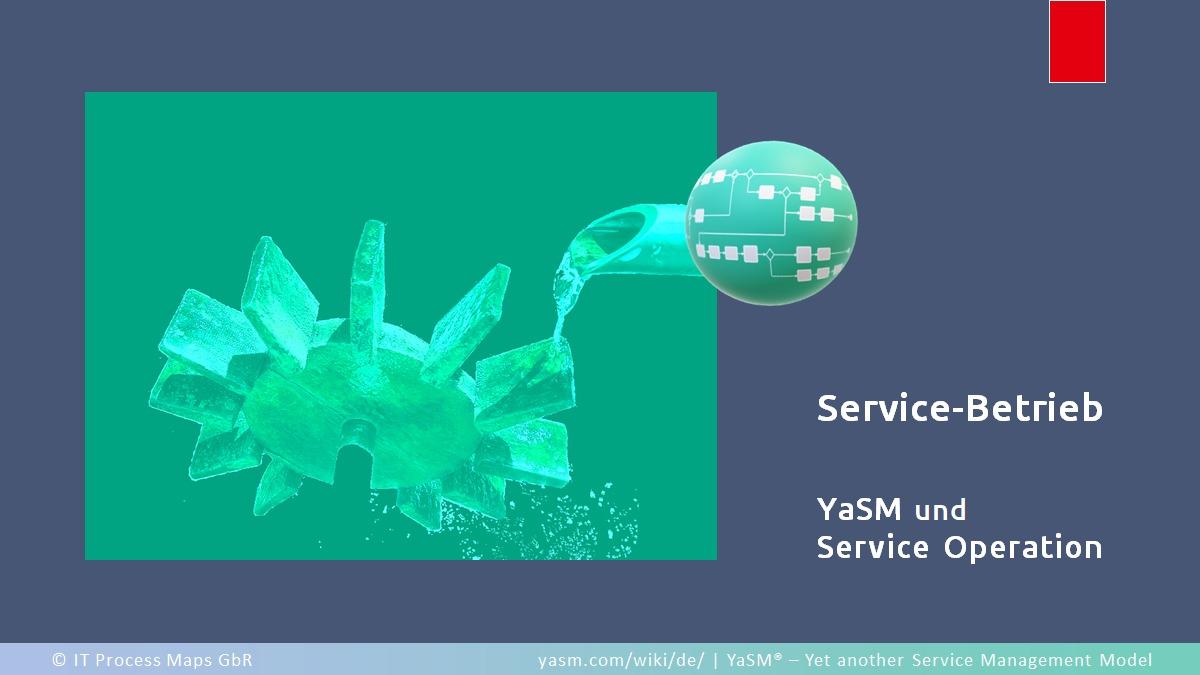 Haben die Betriebsprozesse in YaSM einen anderen Zweck als die in ITIL®, und was ist das Besondere an Service Operation in YaSM?