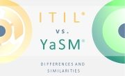 ITIL vs. YaSM. - Service management frameworks compared. - Thumbnail.