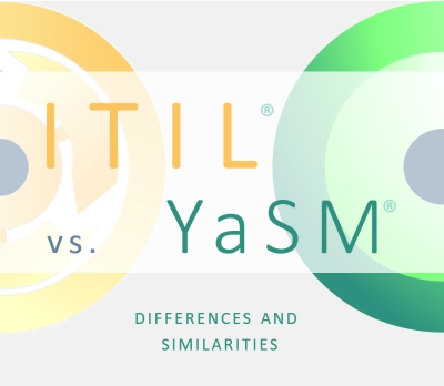 ITIL vs. YaSM. - Service management frameworks compared - the differences and similarities.