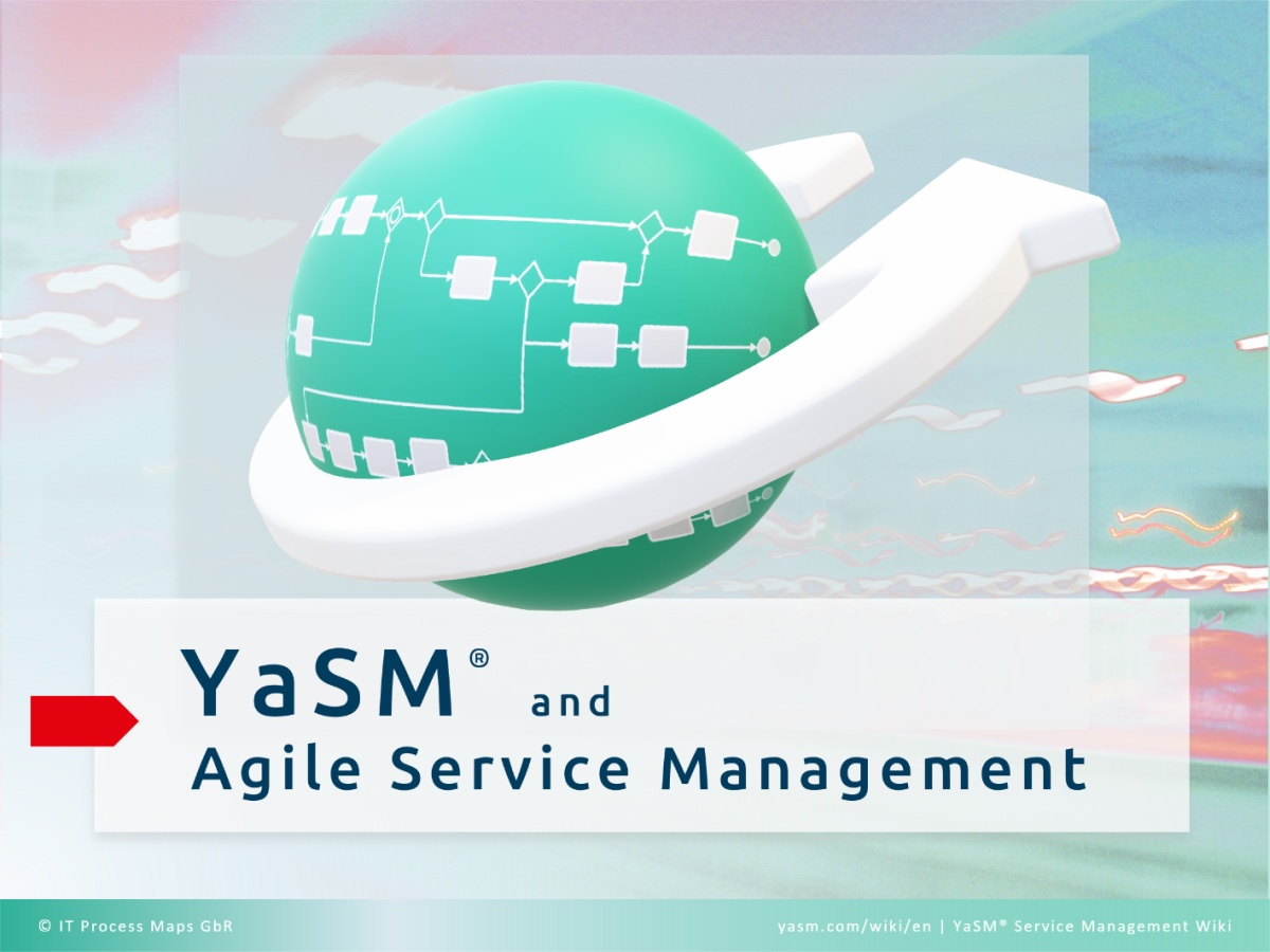 YaSM gives organizations a kind of skeleton for their service management processes, and the flexibility to build Agile principles into these processes.