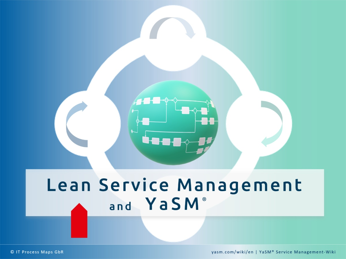 Lean Service Management based on the YaSM model:  The streamlined process model supports the aim of Lean to simplify the operational structure so the organization is better able to understand and manage its work environment.