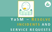 YaSM LP4.6: Resolve incidents and service requests. - Thumbnail.