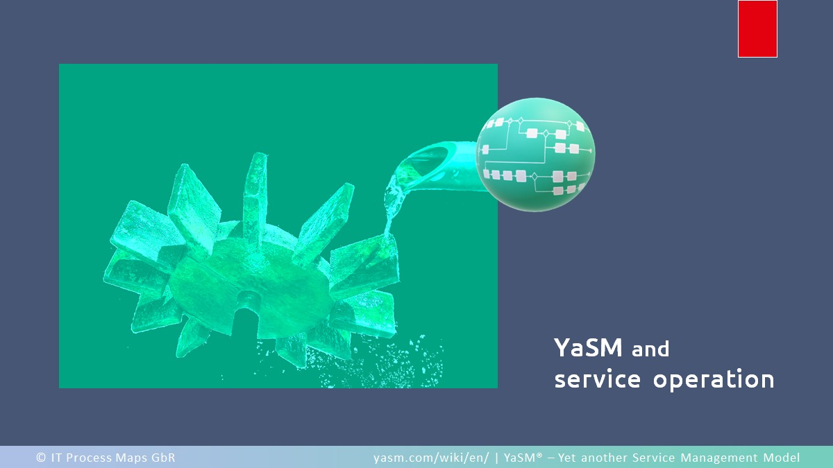 Service operation in YaSM and the ITSM frameworks.