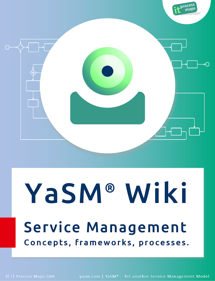 Service Management Wiki: YaSM, service management and ISO 20000. Logo of the Service Management Wiki